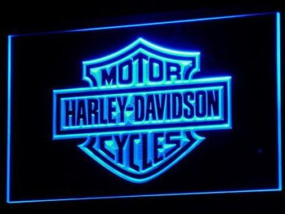 Harley Davidson neon sign LED