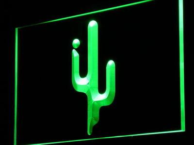 Cactus neon sign LED