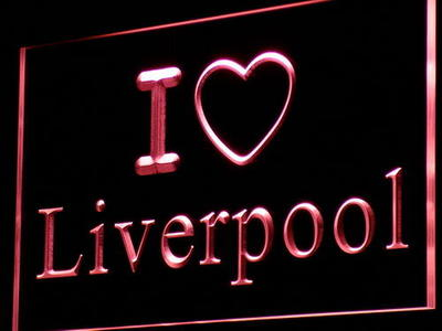 I Love Liverpool neon sign LED