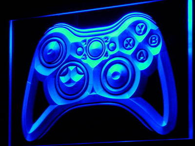 Game Pad neon sign LED