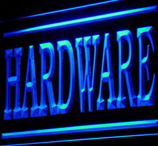 Hardware neon sign LED