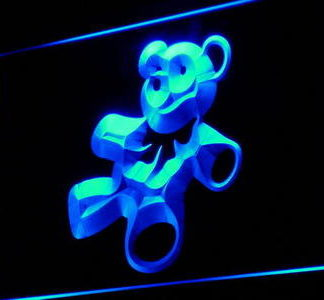 Teddy Bear neon sign LED