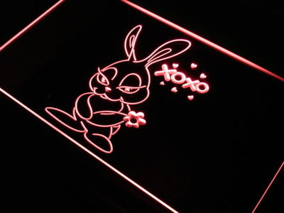 Bunny neon sign LED