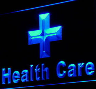 Health Care Cross neon sign LED
