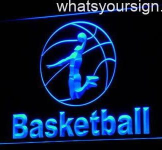 Basketball neon sign LED