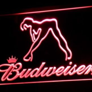Budweiser Girl neon sign LED