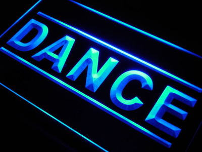 Dance neon sign LED