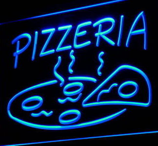 Pizzeria neon sign LED
