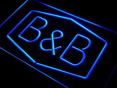 B&B neon sign LED