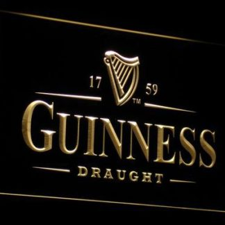 Guinness Draught neon sign LED