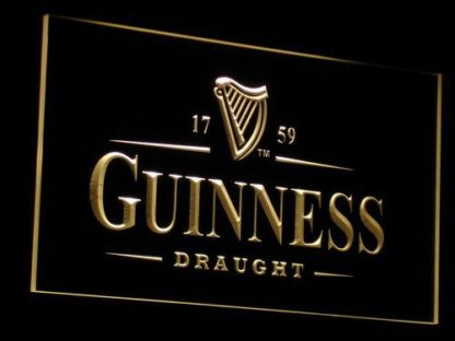 Guinness Draught neon sign LED