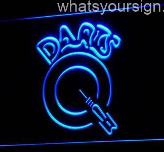 Darts neon sign LED