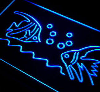 Aquarium neon sign LED