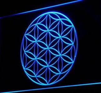 Alien Crop Circle neon sign LED