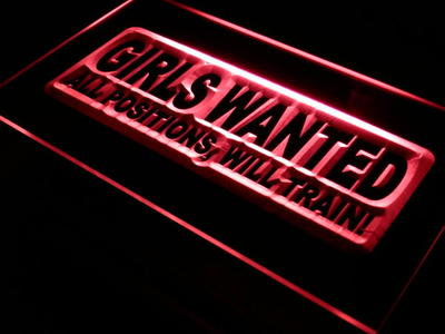 Girls Wanted neon sign LED