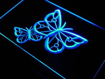 Butterflies neon sign LED