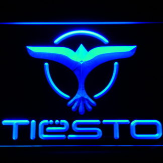 Tiesto neon sign LED