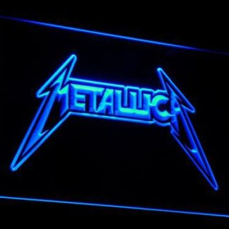 Metallica neon sign LED