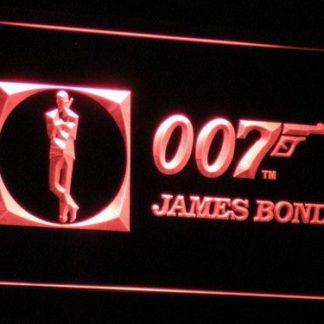 James Bond neon sign LED