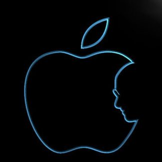 Apple neon sign LED