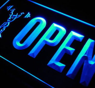 Gym Open neon sign LED