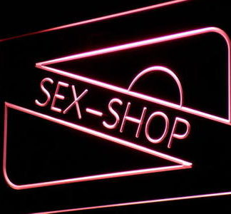 Sex Shop neon sign LED