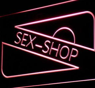 Sex Shop neon sign LED