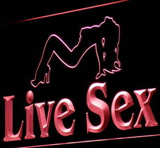 Live Sex neon sign LED