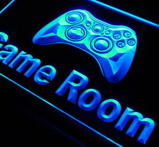 Game Room neon sign LED
