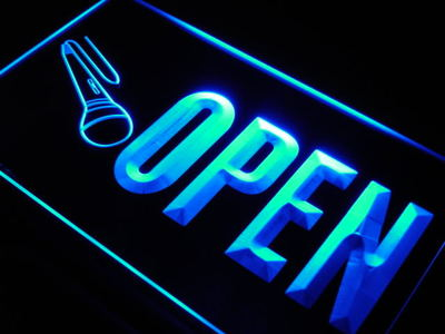 Karaoke - Open neon sign LED