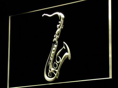 Saxophone neon sign LED