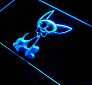 Chihuahua neon sign LED