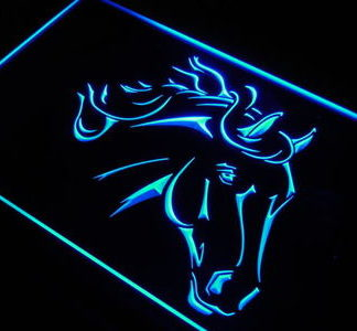 Horse neon sign LED