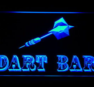 Dart Bar neon sign LED