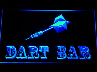 Dart Bar neon sign LED