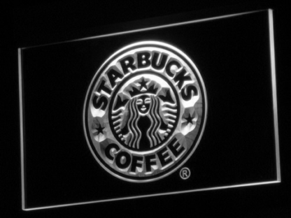 Starbucks neon sign LED