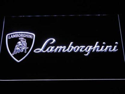 Lamborghini neon sign LED