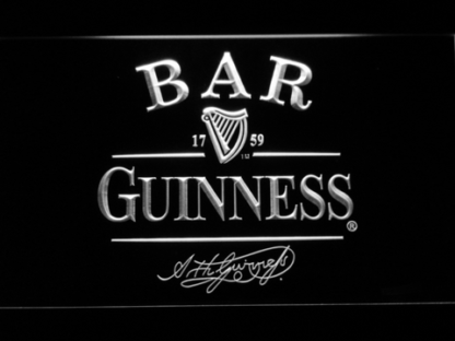 Guinness Bar neon sign LED