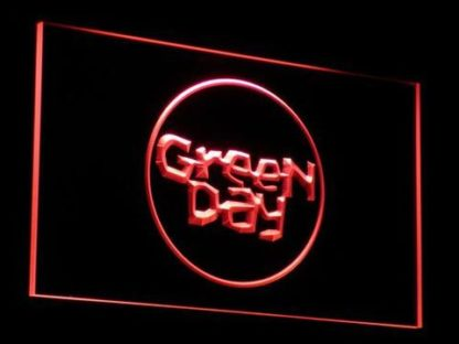 Green Day neon sign LED