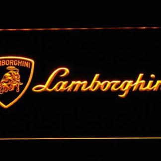 Lamborghini neon sign LED