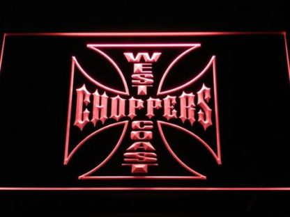 West Coast Choppers neon sign LED