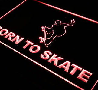 Born to Skate neon sign LED