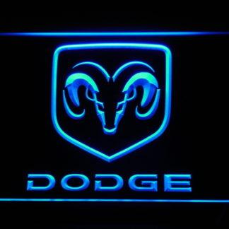 Dodge neon sign LED