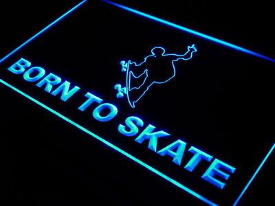 Born to Skate neon sign LED
