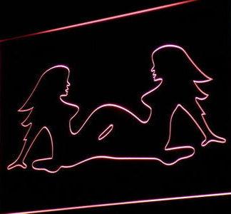 Girls neon sign LED