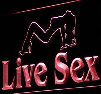 Live Sex neon sign LED