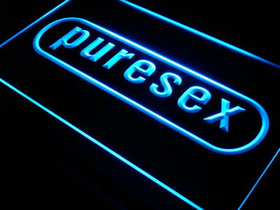 Pure Sex neon sign LED