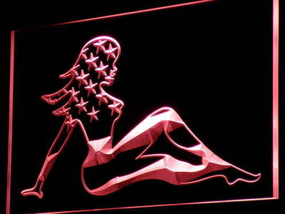 American Woman neon sign LED