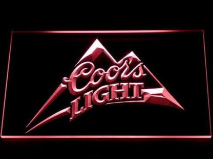 Coors Light neon sign LED