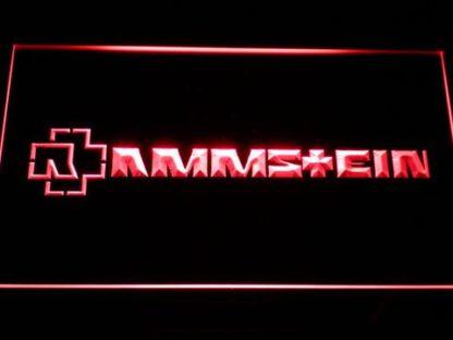 Rammstein neon sign LED